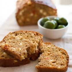 Olive Sun Dried Tomato and Feta Cheese Loaf