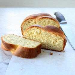 Orange Blossom Brioche Loaf