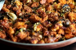 Oyster and Kimchi Stuffing