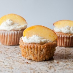 Peaches Cream Muffins Gluten Free Recipe