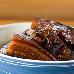 Pork Ribs with Honey and Star Anise