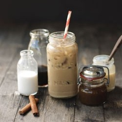 Pumpkin Vietnamese Iced Coffee