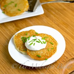 Quick Potato Pancakes (Latkes)