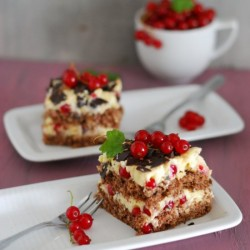 Red Currant Chocolate Cake