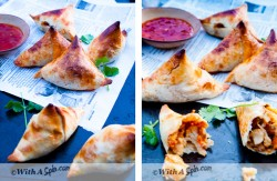 Sweet Potato Cauliflower Samosas Recipe