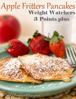 Apple Fritters Pancakes