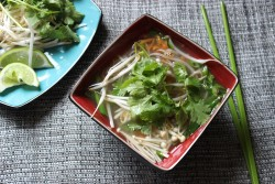 Asian Buckwheat Soba Noodle Soup