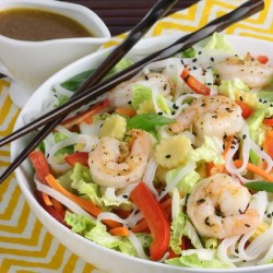 Asian Shrimp Salad Bowl