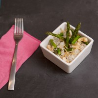 Asparagus and Cashew Rice Pilaf