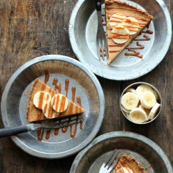 Banoffee Cheesecake Tart
