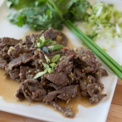 Beef in Lime and Lemongrass