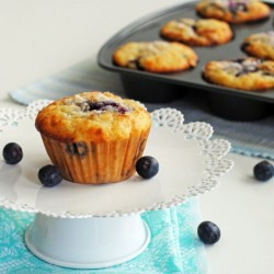 Blueberry Swirl Muffins