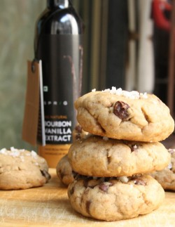 Browned Butter Sea Salt Cookies