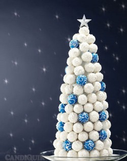 Cake Ball Christmas Tree