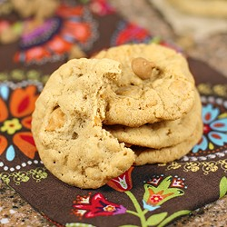 Caramel Butterscotch Cookies