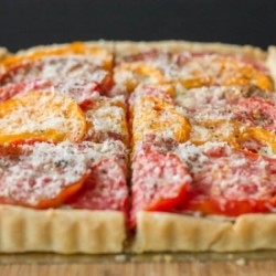 Caramelized Onion and Tomato Tart