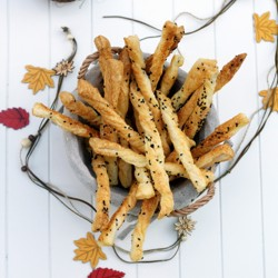 Cheese Straws with Parmigiano Reggiano