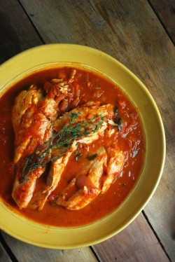 Chesapeake Bay Rockfish Stew