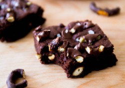 Chocolate Pretzel Brownies