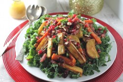 Christmas Leftovers Salad