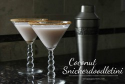 Coconut Snickerdoodletini