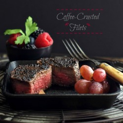 Coffee-Crusted Steak