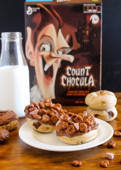Count Chocula Donuts
