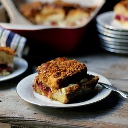 Cranberry Cream Cheese Stuffed French Toast Casserole Recipe