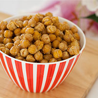 Crispy Coated Chickpea Popcorn