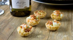 Crispy Prosciutto and Melon Cups
