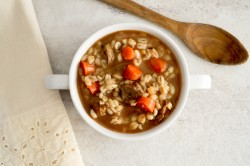 Crockpot Hearty Beef Barley Soup