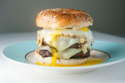 Double Cheeseburger with Fried Egg