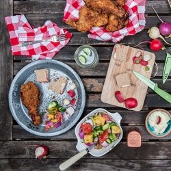 Double Dipped Buttermilk Fried Chicken Recipe