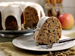 Fresh Apple Bundt Cake with Glaze