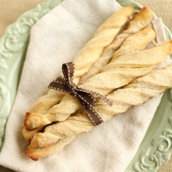 German Sour Cream Twists