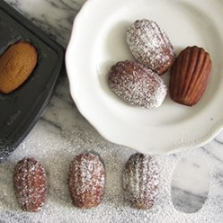 Gingerbread Madeleines