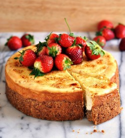 Gluten Free Banana Cheesecake