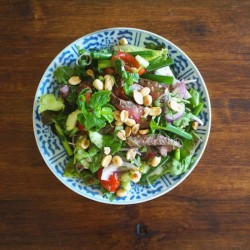 Grilled Beef Salad (Thai-Style)