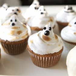 Halloween Pumpkin Spook-Cakes