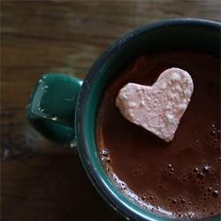 Healthy Hot Chocolate and Homemade Raspberry Marshmallows