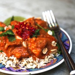 Healthy Indian Butter Chicken