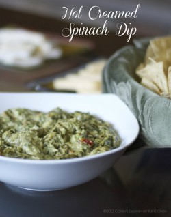 Hot Creamed Spinach Dip