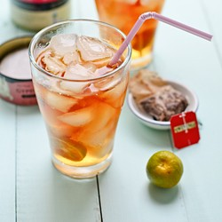 Iced Kalamansi Tea Recipe