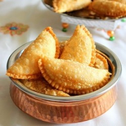 Karjikai – Deep Fried Pastries