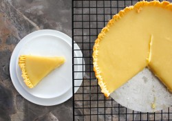 Lemon Brown Butter Tart {Eggless}