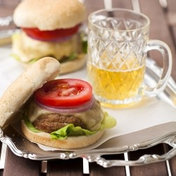 Mozzarella Stuffed Burgers Recipe