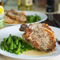 Mustard Pork Chop Recipe