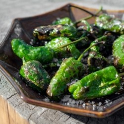 Padron Peppers with Maldon Sea Salt Recipe