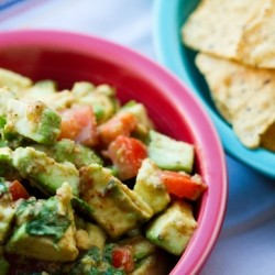 Party Guacamole with Lemon