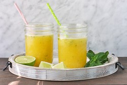 Party Pineapple Orange Mojitos